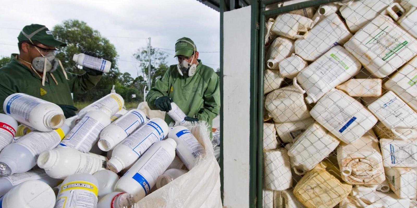 Brasil é referência na aplicação de economia circular em embalagens de defensivos agrícolas